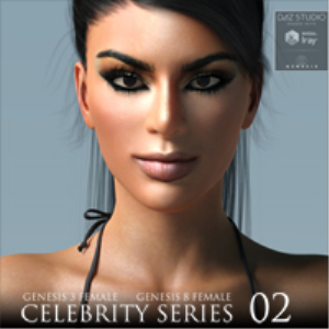 Celebrity Series 02 for Genesis 3 and Genesis 8 Female | Software | Design