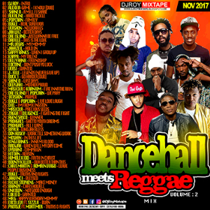 dj roy dancehall meets reggae mix vol.2
