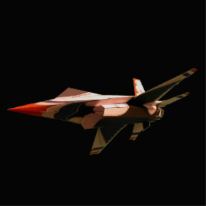 Paper F-16 Thunderbird | Crafting | Paper Crafting | Paper Models
