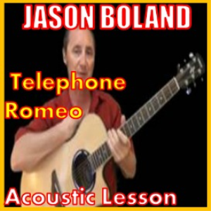 learn to play telephone romeo by jason boland