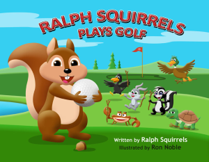 ralph squirrels plays golf