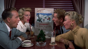 """snow from """"white christmas"""" movie arranged for mixed quartet, strings, rhythm and more (bing crosby, danny kaye)"""