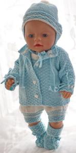dollknittingpatterns 0182d alma marie - combinaison, veste, bonnet, chapeau et chaussons-(francais)