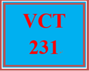 vct 231 week 2 individual: video editing