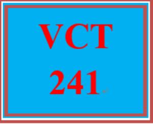 VCT 241 Week 2 Individual: Recipe Design   eBooks   Education