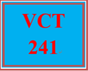 VCT 241 Week 5 Individual: Company Flyer | eBooks | Education