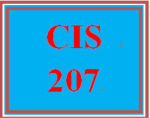 CIS 207 Week 2 Individual: Map Your Network | eBooks | Education