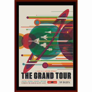 the grand tour - custom cross stitch pattern by cross stitch collectibles