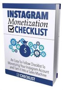 ebook on instagram monetization checklist