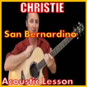 Learn to play San Bernardino by Christie | Movies and Videos | Educational