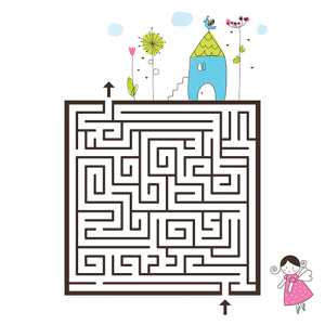Labyrinth - printable 5000x5000pix 300 dpi | Photos and Images | Clip Art