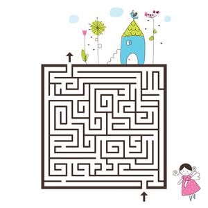 labyrinth - printable 5000x5000pix 300 dpi
