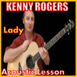 Learn to play Lady 2 by Kenny Rogers | Movies and Videos | Educational