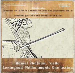 kabalevsky: concerto no. 2 for cello - boccherini: cello concerto in b-flat - daniel shafran, 'cello