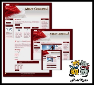 Christmas Theme for WordPress and Blogger | Software | Design Templates