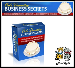 cake decorating business secrets