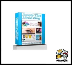 Beauty Tips Niche Blog   Software   Design Templates