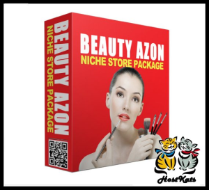 Beauty Azon PLR Online Store | Software | Design Templates