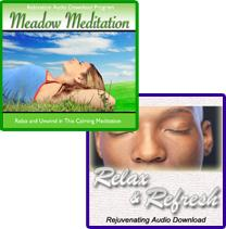 Meadow Meditation - Relax and Refresh Product Combo | Audio Books | Health and Well Being