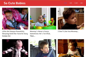 premium baby and kid viral video site