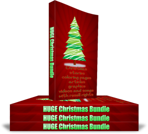 huge christmas bundle, articles, ebooks, activities, resell rights