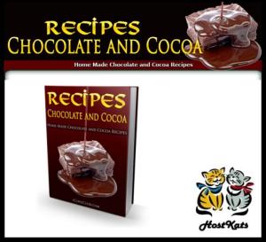 recipes - chocolate and cocoa