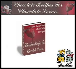 600 delicious chocolate recipes