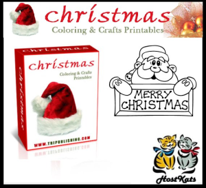 christmas coloring & crafts printables
