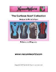 Curlicue Scarf Collection - UK Crochet Terms | eBooks | Arts and Crafts