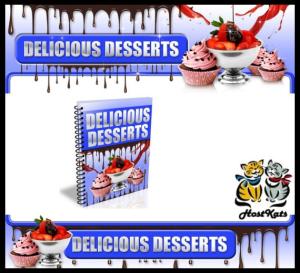 over 200 delicious desserts
