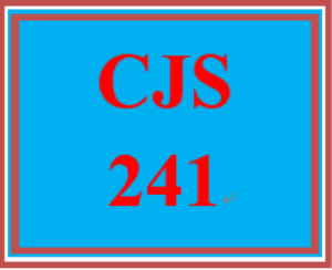 cjs 241 week 1 policing history and function paper