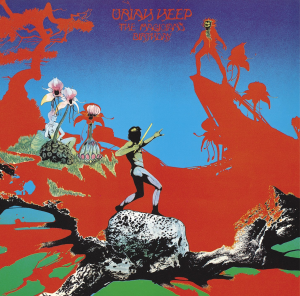 uriah heep the magician's birthday (1972) (mercury records) (8 tracks) 320 kbps mp3 album