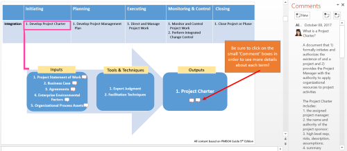Fourth Additional product image for - Project Management Professional Certification - Visual ITTOs Overview
