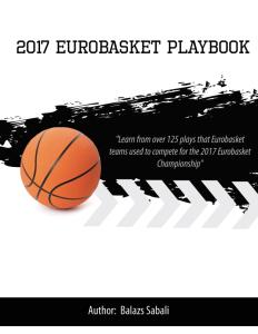 2017 eurobasket playbook