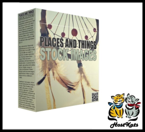 places and things stock images