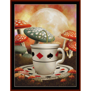 fantasy cup - fantasy cross stitch pattern by cross stitch collectibles