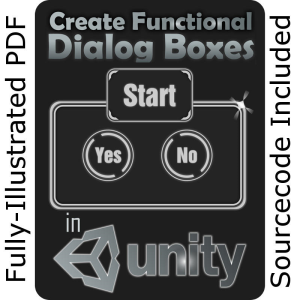 UNITY Training:  Create Functional Dialog Boxes (complete project) | eBooks | Games