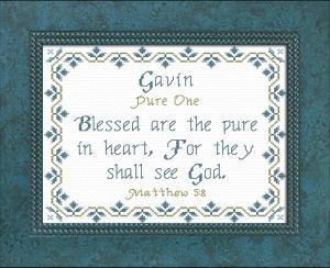 name blessings - gavin 2