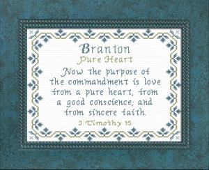 name blessings - branton
