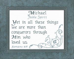 name blessings - michael 3