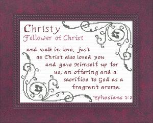 name blessings - christy 3