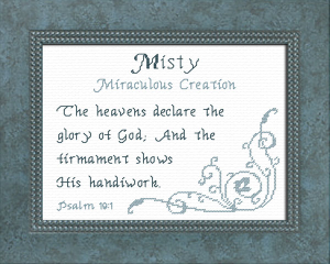 name blessings - misty