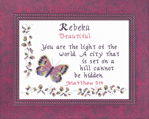 name blessings - rebeka