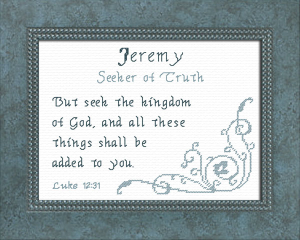 name blessings - jeremy 2