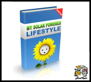 my solar powered lifestyle