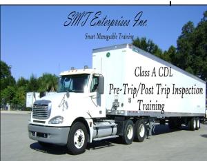 smt enterprises inc. class a pre trip inspection