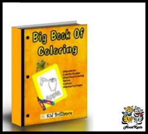 big book of coloring