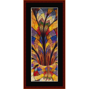 Fractal 650 bookmark cross stitch pattern by Cross Stitch Collectibles | Crafting | Cross-Stitch | Other