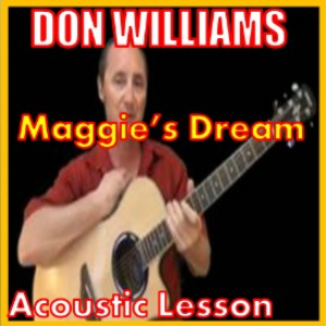 learn to play maggie's dream by don williams