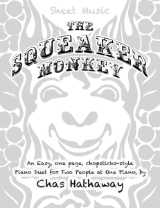 the squeaker monkey sheet music pdf
